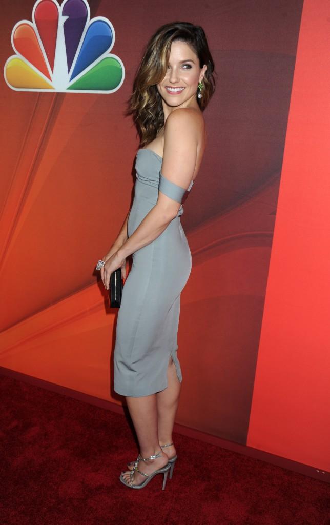 """Sophia Bush lors du """"NBC Upfront Presentation"""" à New York, le 12 mai 2014."""