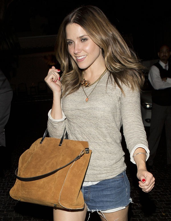 Sophia Bush le 22 août 2012 à Los Angeles