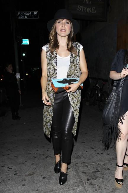 Sophia Bush à Hollywood, le 22 mai 2013.