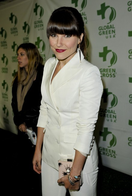 Sophia Bush lors de la soirée Global Green USA's Pre-Oscar Party à los Angeles, le 20 février 2013.