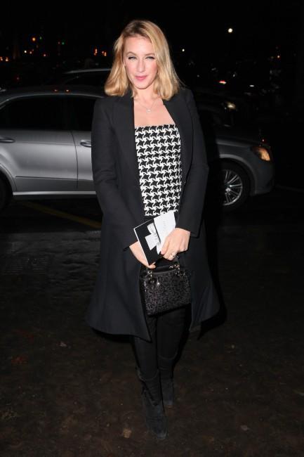 Ludivine Sagnier à Paris pour la soirée Dior, le 12 novembre 2013.