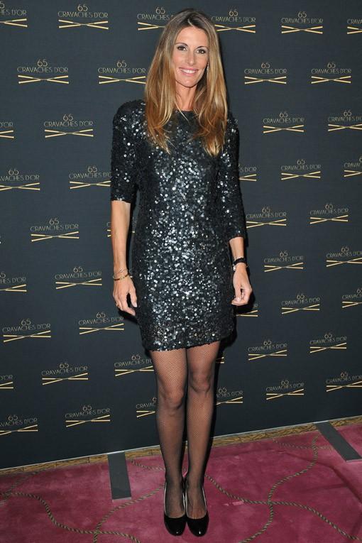 Sophie Thalmann à la 65e cérémonie des Cravaches d'Or organisée à Paris le 14 mars 2014