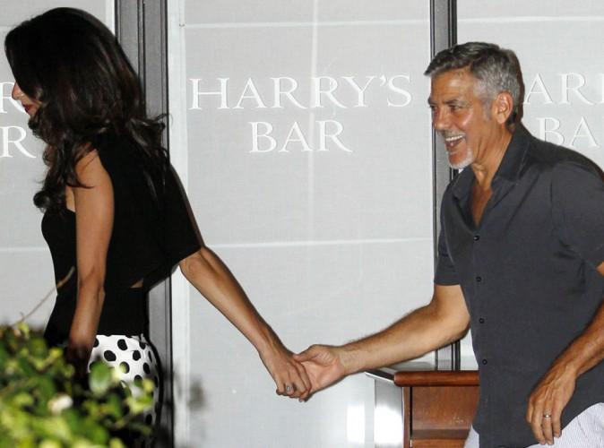 Sous le charme de la belle Amal, George Clooney passe une folle soirée à ses côtés !