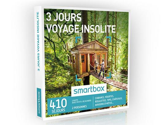 Un coffret voyage insolite Smartbox