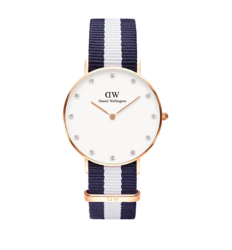 Une montre Daniel Wellington