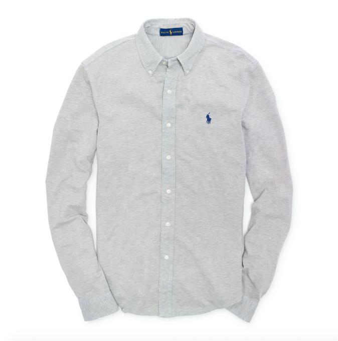 Une belle chemise en coton - Ralph Lauren