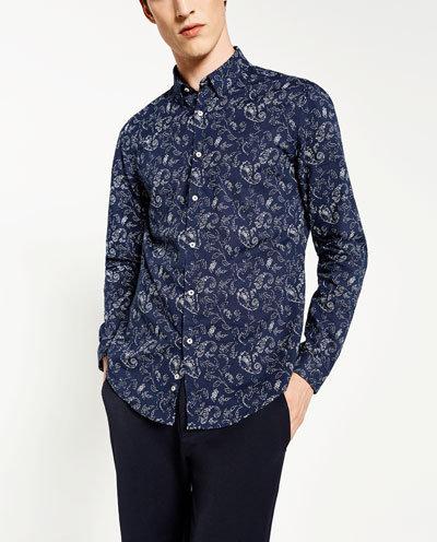 Une jolie chemise - Zara