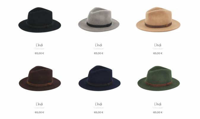 Un chapeau L'Indi