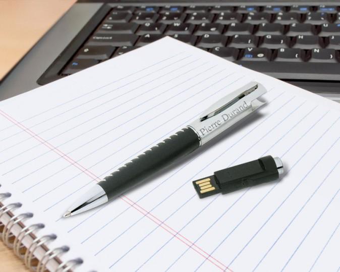 Un stylo USB Pierre Durand