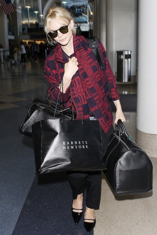 Carey Mulligan à l'aéroport de Los Angeles