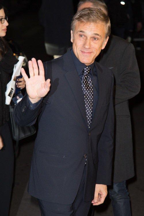 Christoph Waltz à la première de Spectre à Paris, le 29 octobre 2015