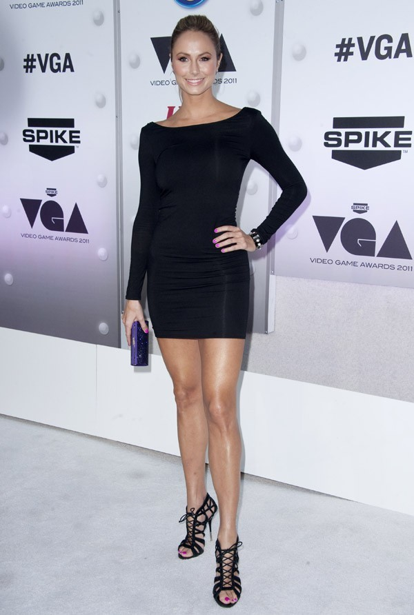 Stacy Keibler aux Spike TV's '2011 Video Game Awards hier soir !