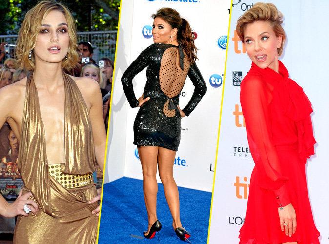 Keira Knightley, Eva Longoria, Scarlett Johansson... ces stars sans complexes !