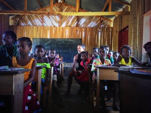 Photos : Steevy Boulay : il partage ses vacances : bons baisers de Madagascar !