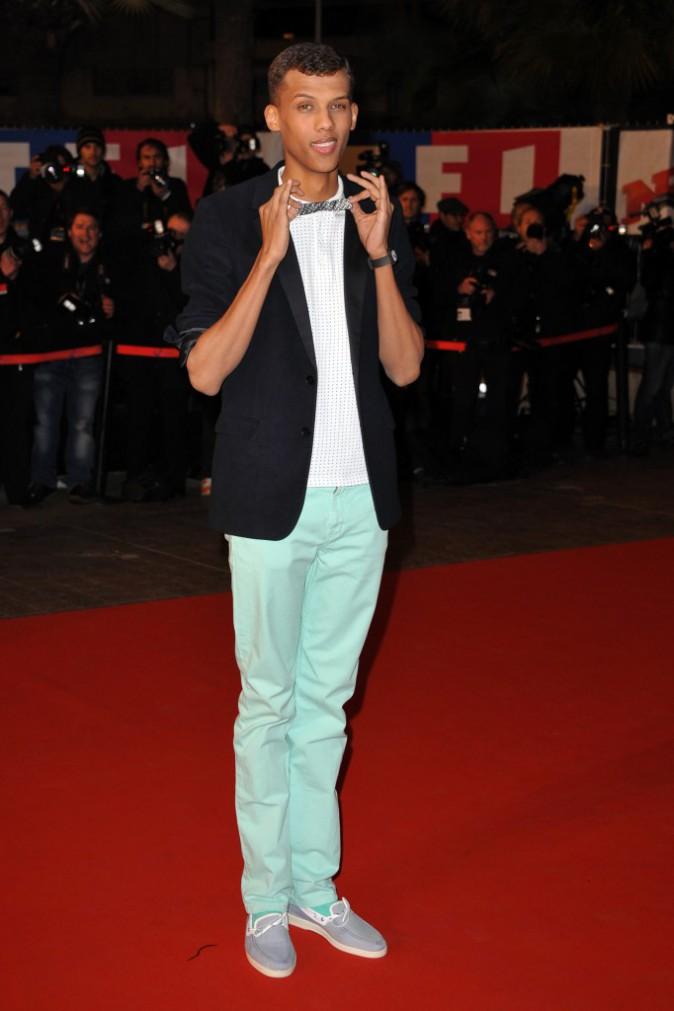 Stromae sur le tapis rouge des Nrj Music Awards 2011
