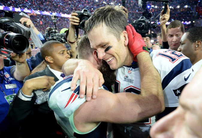 Tom Brady à Phoenix le 1er février 2015