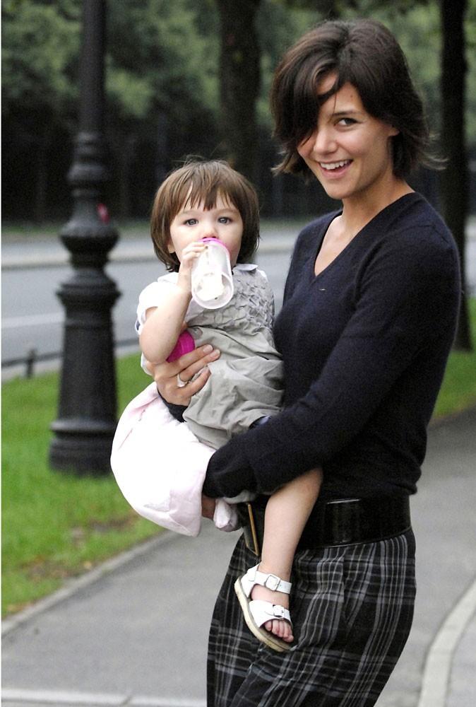 Suri Cruise en 2007 : mère et fille sont inséparables