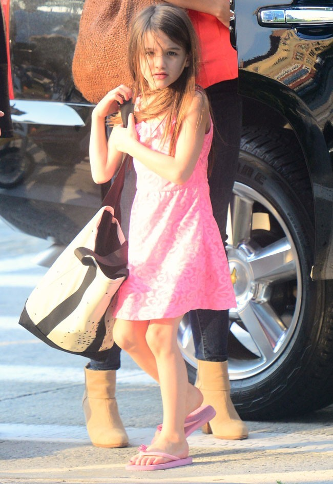 Suri Cruise le 12 juillet 2012 à New York