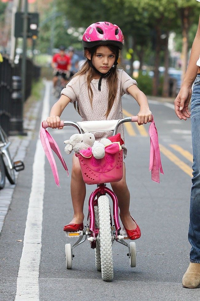 Suri Cruise le 18 août 2012 à New York