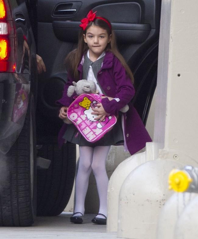 Katie Holmes et Suri Cruise à New-York le 3 janvier 2013
