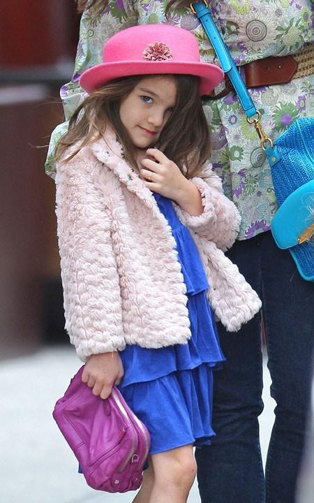 Le reste du temps, elle aime montrer son manteau de fourrure...