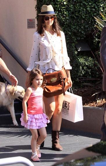 Suri Cruise et Katie Holmes...telle mère, telle fille ?