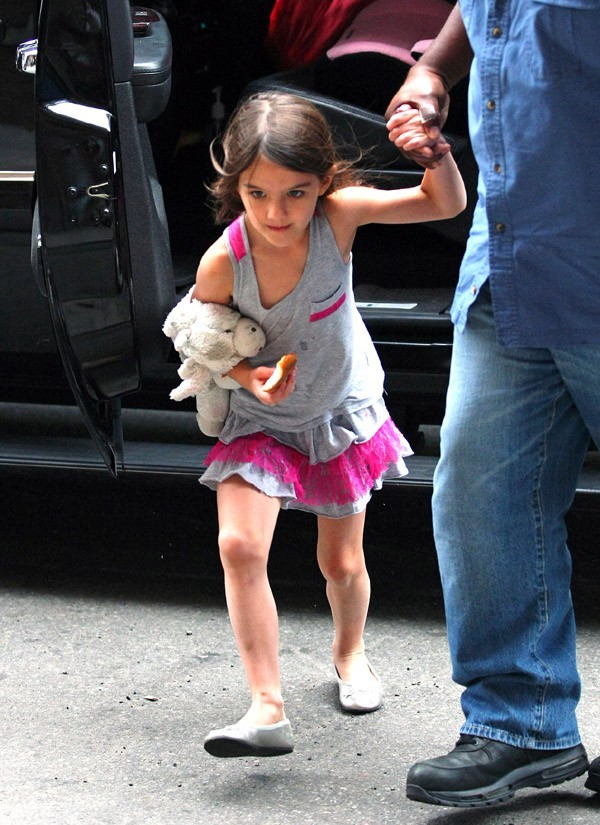 Tom Cruise et Suri à New-York le 11 juin 2012