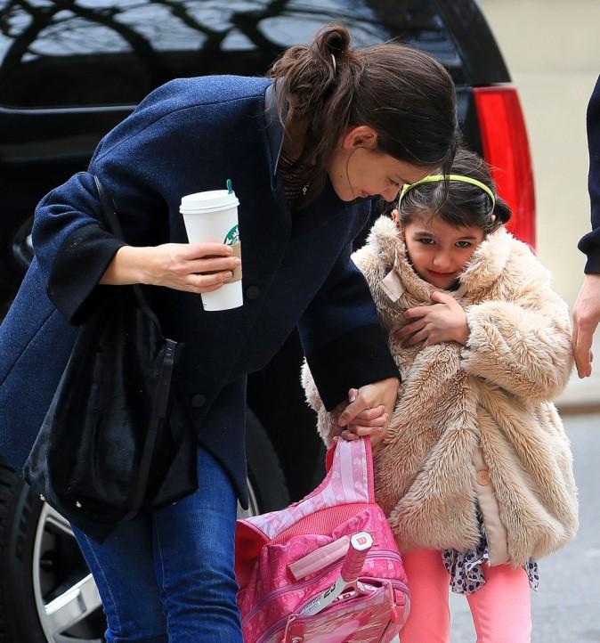 Katie Holmes et sa fille