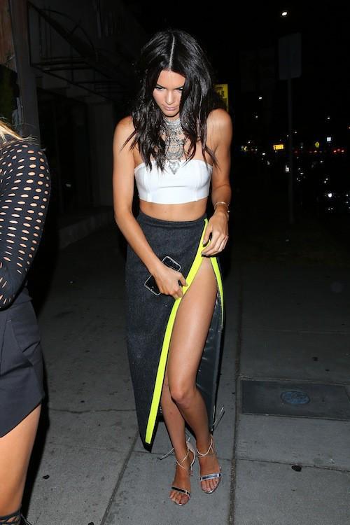 Kendall Jenner à Los Angeles, le 9 août 2015