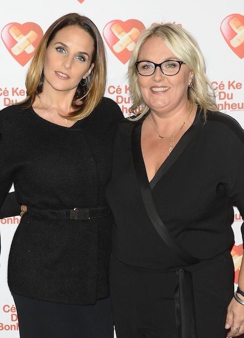 Hélène Sy et Valérie Damidot à l'avant-première de Samba le 14 octobre 2014!