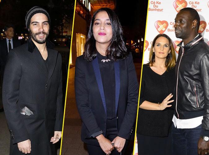 Photos : Tahar Rahim et Leïla Bekhti, Omar Sy et Hélène : deux couples radieux pour la promo de Samba !