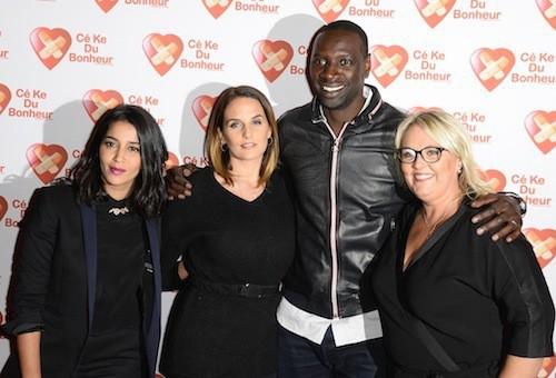Tahar Rahim, Leïla Bekhti, Valérie Damidot, Omar Sy et sa femme Hélène à l'avant-première de Samba le 14 octobre 2014 !