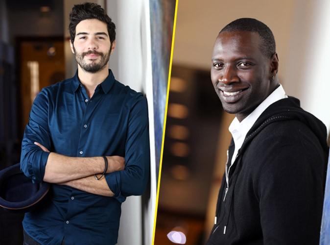 Photos : Tahar Rahim et Omar Sy : duel de beaux gosses pour la première de Samba !