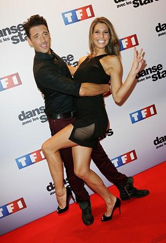 Laury Thilleman et Maxime Dereymez à Paris le 10 septembre 2013