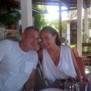 Avec son boyfriend Omar Khyami