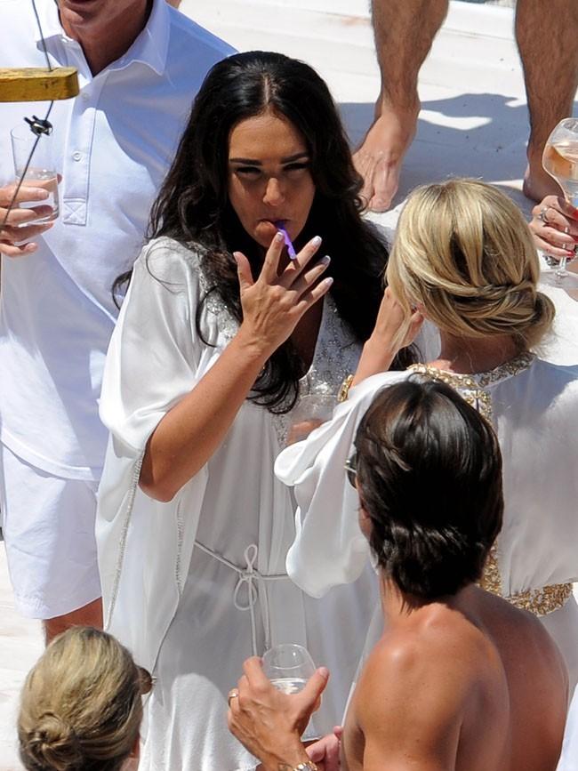 Tamara Ecclestone fête son mariage sur la Côte d'Azur le 12 juin 2013