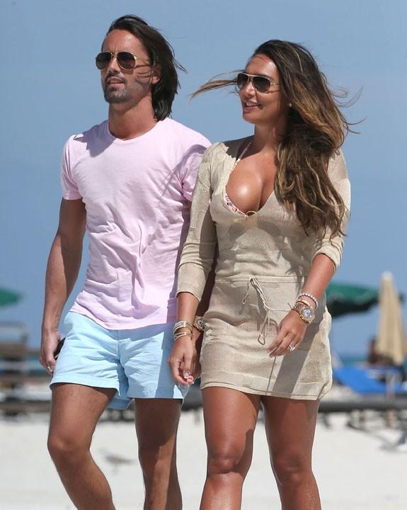Tamara Ecclestone à Miami avec son fiancé le 14 mars 2013