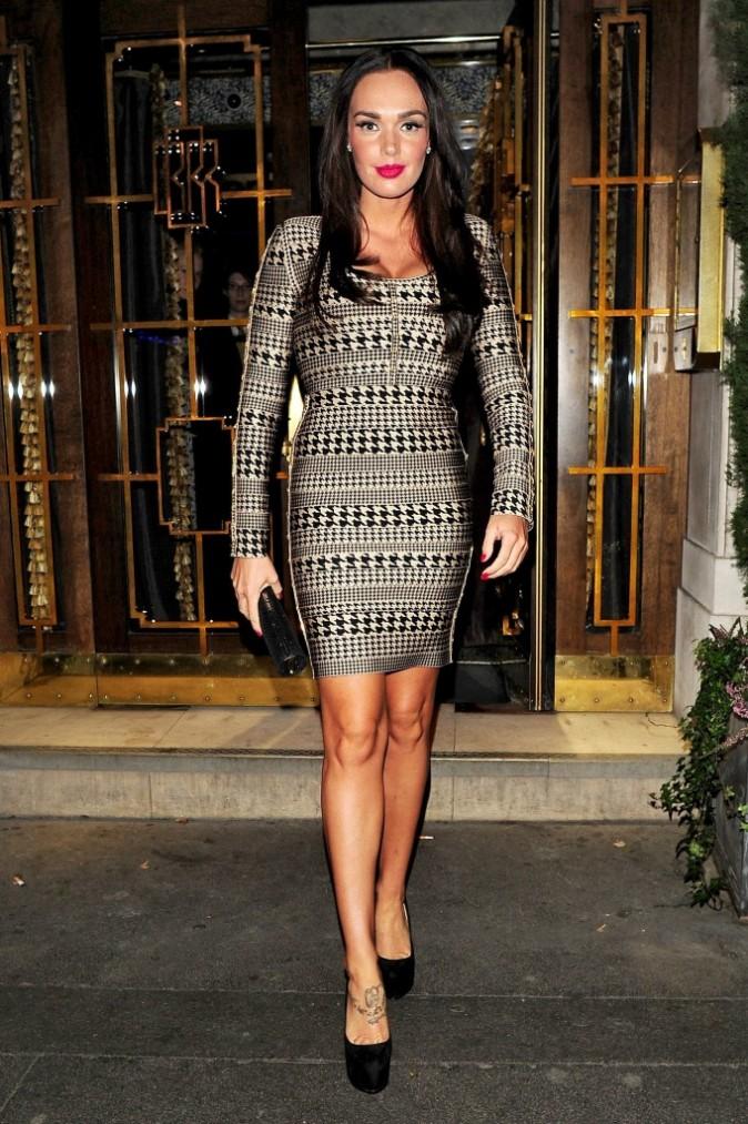 Tamara Ecclestone à Londres, le 15 novembre 2011.