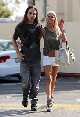 Tara Reid à West Hollywood le 6 juillet 2013