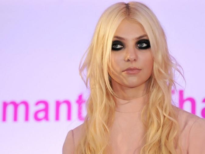 Les yeux noirs de Taylor !