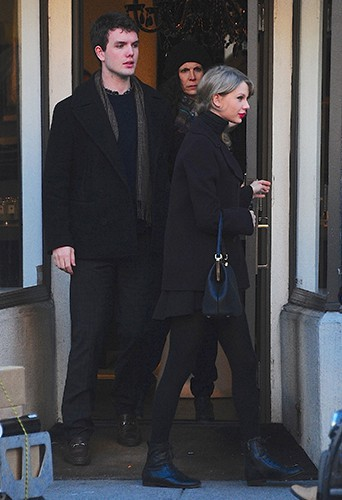 Taylor Swift à New-York le 9 janvier 2014
