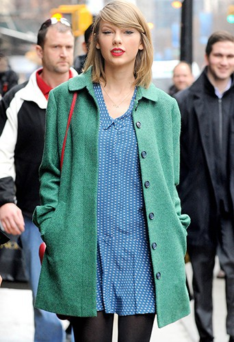 Taylor Swfit à New York le 28 mars 2014