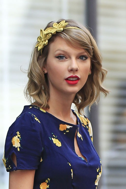 Taylor Swift à New-York le 22 avril 2014