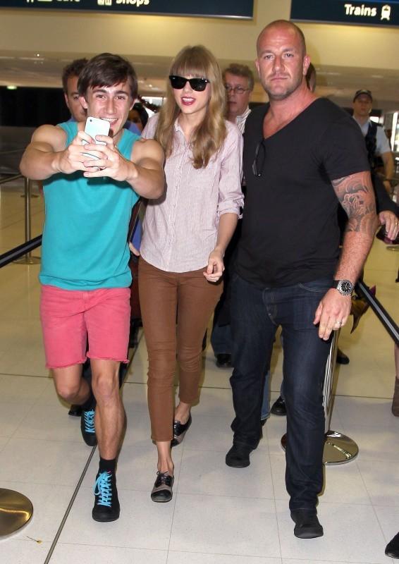 Taylor Swift le 30 novembre 2012 à Sydney