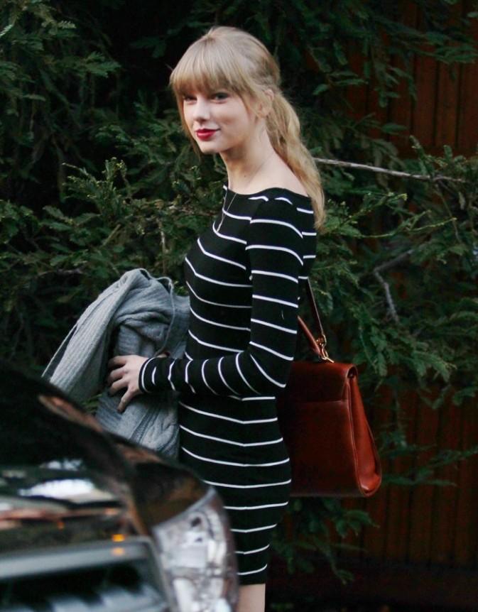Taylor Swift à Pacific Palisades le 8 janvier 2013