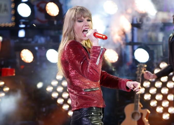 Taylor Swift le 31 décembre 2012 à New York