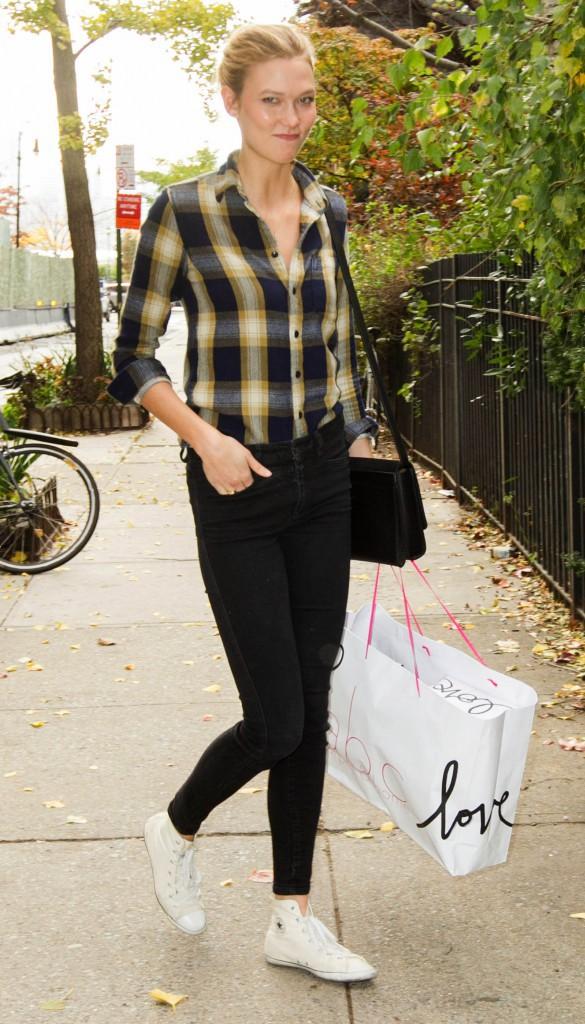 Karlie Kloss le 12 novembre 2014