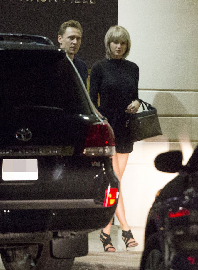 Taylor Swift et Tom Hiddleston à Nashville le 23 juin 2016