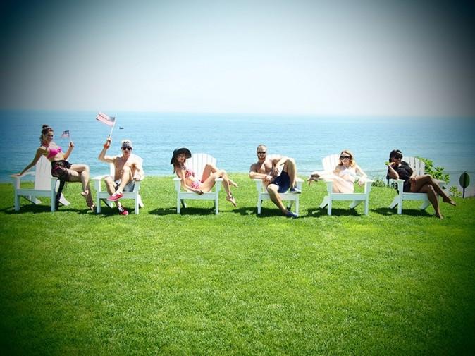 Taylor Swift et ses amis le 4 juillet 2013