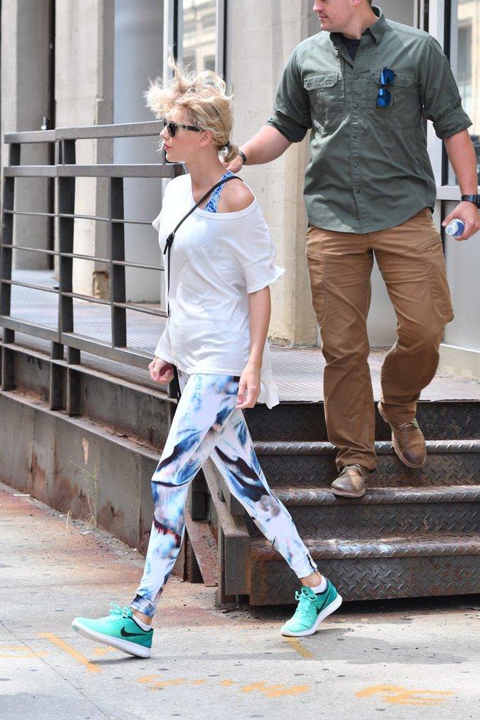 Taylor Swift dans les rues de Manhattan ce mercredi 10 août 2016